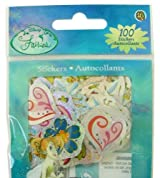 Disney Fairy Tinker Bell 100 glittering sticker pack