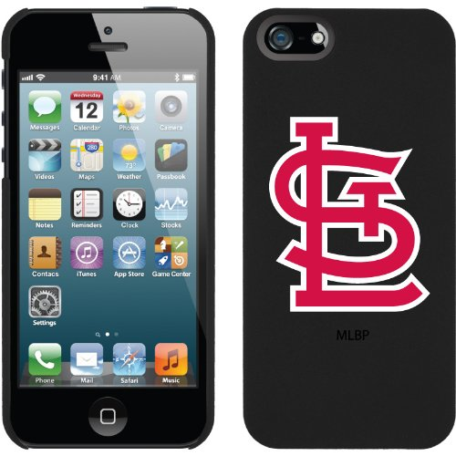 Special Sale St. Louis Cardinals - STL design on a Black iPhone 5s / 5 Thinshield Snap-On Case by Coveroo