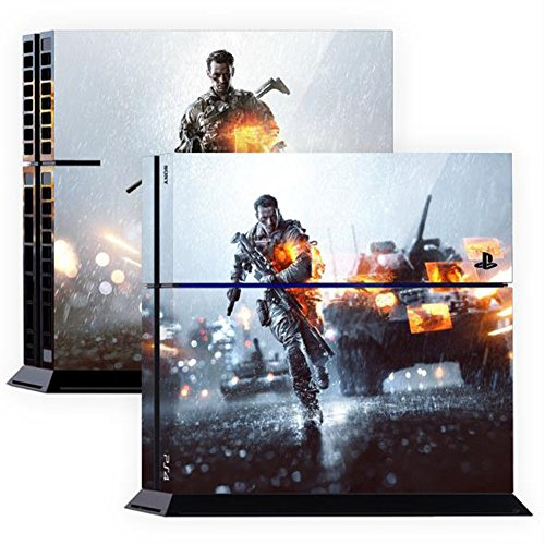 Premium-Skin-Decals-Stickers-For-PlayStation4-Game-Console-PS4-Skin-Korea-Made-POPSKIN-Battlefield-02