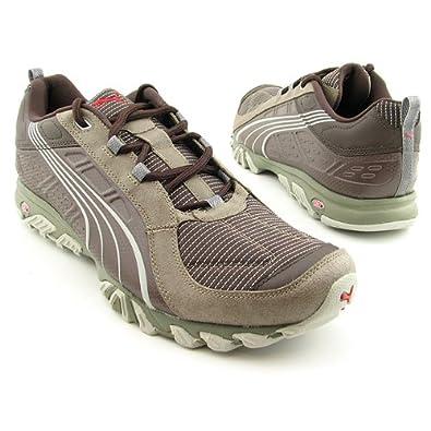 PUMA Men's Rodalban Xc Low Sneaker,Brown/Teak/Olive,10.5 D