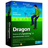 Dragon NaturallySpeaking preferred v10par Nuance
