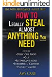 Living Life with Abundance:  How to Avoid and Prosper Without Government Handouts or Corporate Slavery. Regain Your FREEDOM.  Please DO NOT Use This Powerful Information for Any Illegal Activities.
