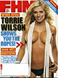 FHM September 2006 WWE Diva Torrie Wilson on Cover, NFL Preview, Jenny McCarthy Dresses You for Sex, Jerome Bettis/Pittsburgh Steelers, NFL Cheerleaders, Miami Hurricanes, Cat Cora, The Wire - Meet the Characters