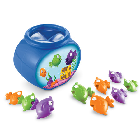 Amazon.com: Learning Resources Hide-N-Go Fish: Toys & Games