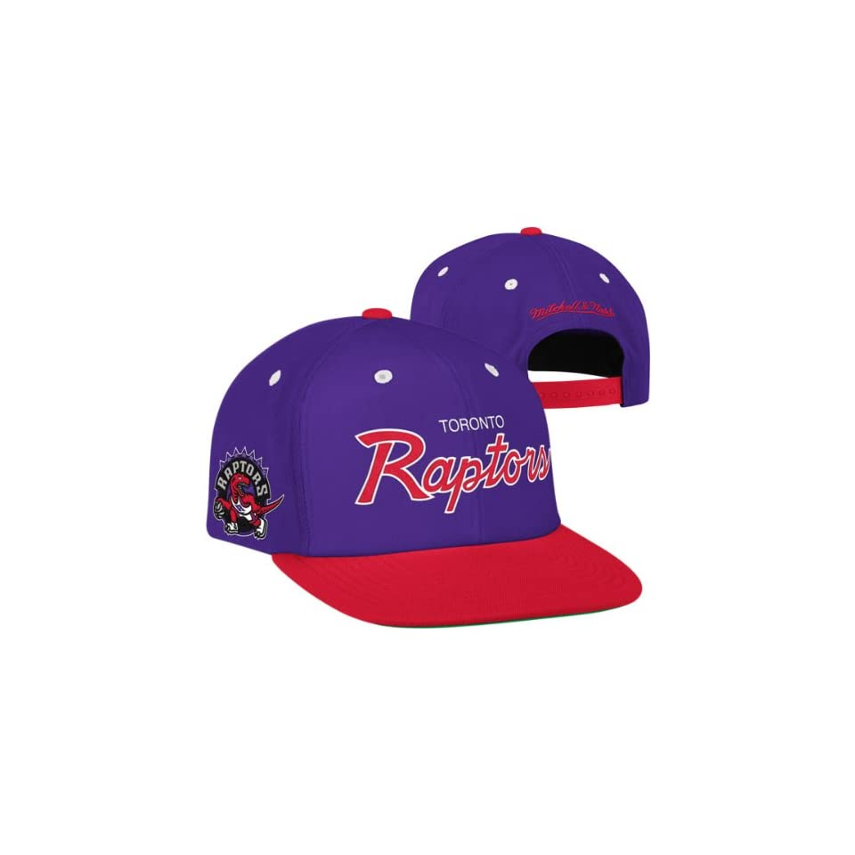 new style 57516 a2e10 ... australia toronto raptors mitchell ness the script is in 2 tone snapback  hat 3008b 40d5c