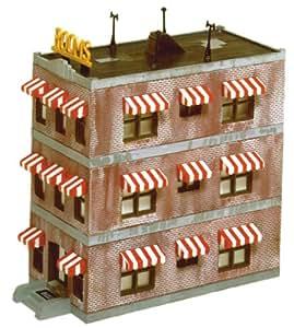 Life Like Trains Life Like Trains HO Scale Building Kits Belvedere Downtown Hotel