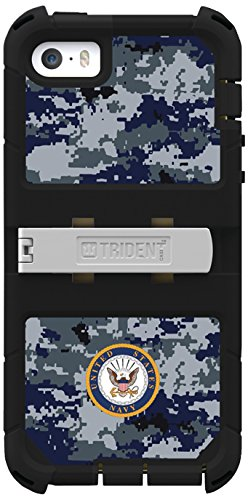 Trident Kraken A.M.S Series Case For Iphone 5/5S - Retail Packaging - Us Navy Camo
