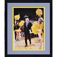 Framed John Wooden UCLA Bruins Autographed 16 x 20 Photograph - Mounted Memories...