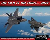 The Sky Is The Limit 2014 Wall Calendar