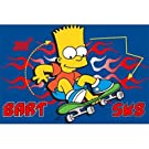 Kids/Childrens Bart Simpson Rug, The Simpsons Bedroom Floor Rug