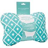 Upper Canada Soap Inflatable Bath Pillow, Blue Mosaic