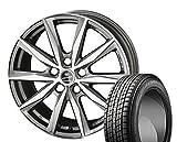 [235/55R18]GOODYEAR / ICE NAVI SUV スタッドレス [2/-][SMACK / BASALT (PGR) 18インチ] スタッドレス&ホイール4本セット ヴァンガード(30系 ワイド)、ハリアー(30系)、RAV4(30系)