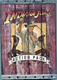 img - for Indiana Jones Action Pack 3 Book Set plus Bonus Poster - Indiana Jones and the Pyramid of the Sorcerer, Indiana Jones and the Mystery of Mount Sinai, The Indiana Jones Handbook: The Complete Adventurer's Guide book / textbook / text book