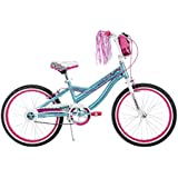 Huffy Bicycle Company Number 23035 Girls Jazzmin Bike, Jazz Teal/White, 20-Inch