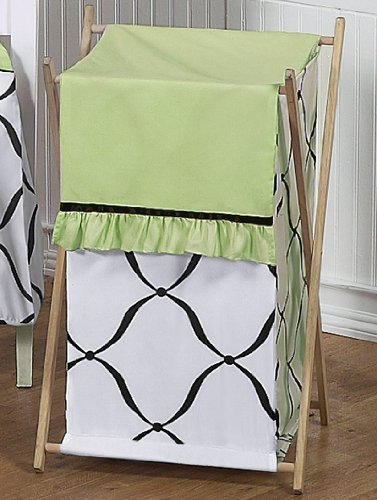 Green And Black Baby Bedding