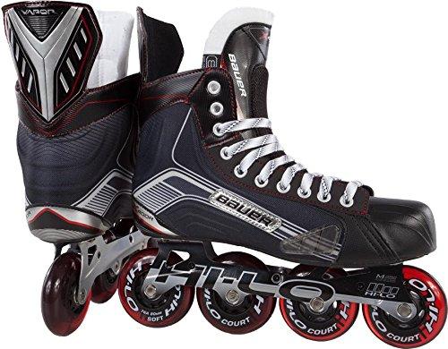 Bauer-1047267-Junior-Vapor-X400R-Roller-Hockey-Skate-Black-Size-35