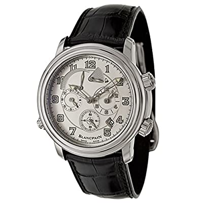 Blancpain Leman GMT Alarm Men's Automatic Watch 2041-1542-53B