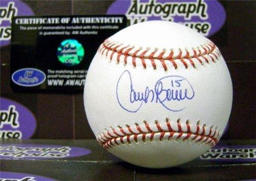 Carlos Beltran Autographed Hand Signed Baseball