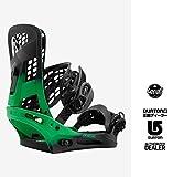 16-17 BURTON Genesis Reflex Snowboard Binding Green Fade:Sサイズ /(4X4対応)バートン ジェネシス リフレックス 正規品 保証書付