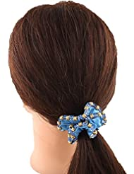 Anuradha Art Blue Colour Beautiful Stylish Hair Accessories Hair Band Stylish Rubber Band For Women/Girls