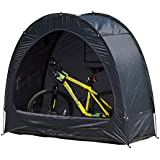 Outsunny Outdoor Portable Garage Shed Bicycle Storage Tent, Black