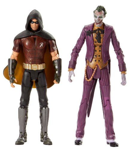 Batman Legacy Arkham City Robin And The Joker Collector Figure 2-Pack at Gotham City Store