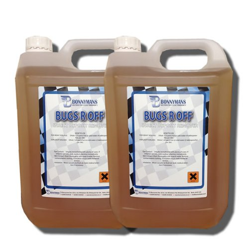Bugs R Off - Bug, Insect & Tar Remover 2 x 5 Litres