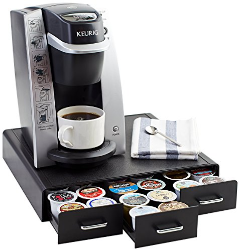 AmazonBasics Coffee Pod Storage Drawer for K-Cup Pods - 36 Pod Capacity (Coffee Keurig Storage compare prices)