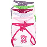 Firststep New Born Baby Cute Printed Cloth Nappies Pack Of 6pcs(0-3months) - B01GX4IX64