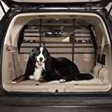 Guardian Gear Steel/Rubber Vehicle Pet Barrier, Black