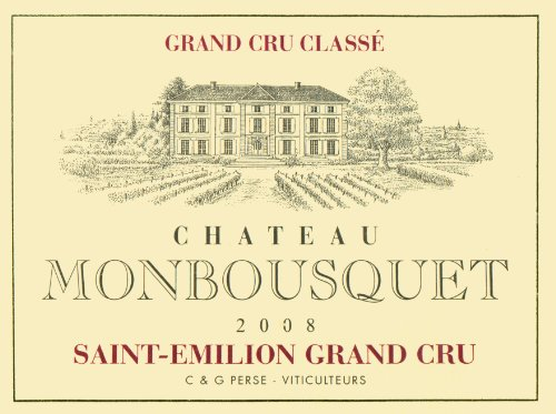 2008 Château Monbousquet Saint-Émilion Grand Cru 750 Ml