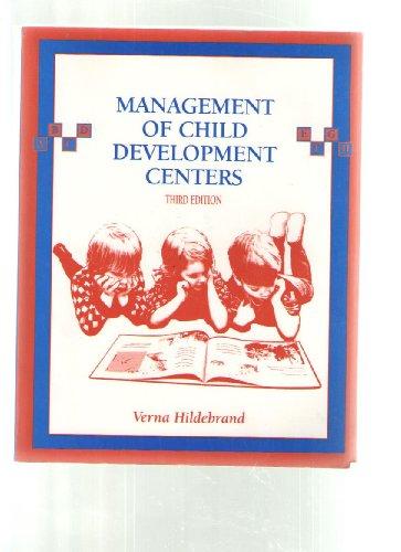 Management of Child Development Centers, Hildebrand, Verna