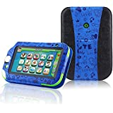 LeapPad Ultra XDi / LeapPad Ultra Case - ACdream High Quality PU Pattern Leather Cover Universal Case for LeapPad Ultra XDi[2014] / LeapPead Ultra[2013] Kids' Learning 7inch Tablet (NOT FIT LeapPad3) - Blue