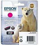 Epson T2633 Tintenpatrone Eisbär, Singlepack, magenta XL