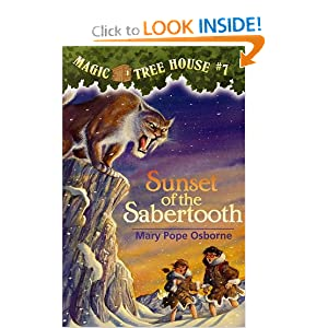 Sunset of the Sabertooth (Magic Tree House, No. 7) by Mary Pope Osborne and Sal Murdocca