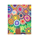 Mexican Flowering Tree of Life Stretched Canvas Prints