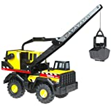 "Tonka: ""Mighty Crane"" - Steel 32"" Construction Vehicle ~ Unknown"
