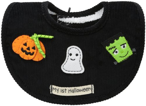 Mud Pie Baby-Girls Newborn My First Halloween Bib, Multi, 0-12 Months