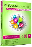 Webroot SecureAnywhere Essentials 2012, Netbook Edition, 1 User, 1 Year Subscription (PC)