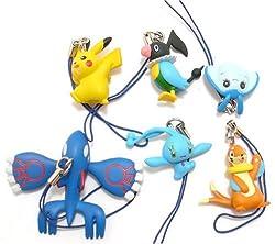 Pokemon Charms series 3 Capsule Toys Set of 6