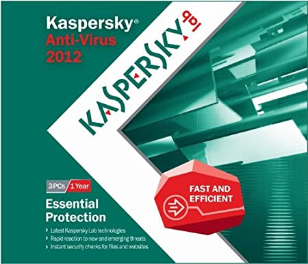 Kaspersky Anti Virus 2012 - 3 Users - Frustration Free Packaging