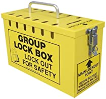 Accuform Signs KCC614 Portable Group Slot Lock Box, 10