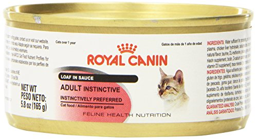 Royal Canin Feline Health Nutrition Adult Instinctive Loaf In Sauce