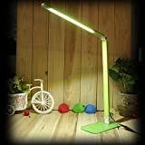 Grn-7W-LED-dimmbar-schreib-Tischlampe-600-lumen-Klemmleuchte-48-LEDs-mit-Touch-Funktion-5500-6500-Kelvin-AC90-240V-DC12V-Universal