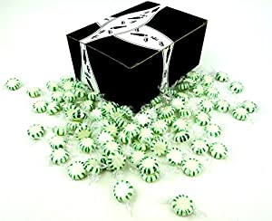 Spearmint Starlight Disks by Cuckoo Luckoo™ Confections, 1 lb Bag in a Gift Box