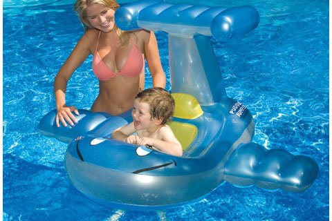 Swimline Puddle Jumper Baby Seat front-465327