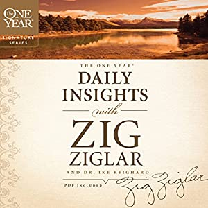 The One Year Daily Insights with Zig Ziglar Audiobook
