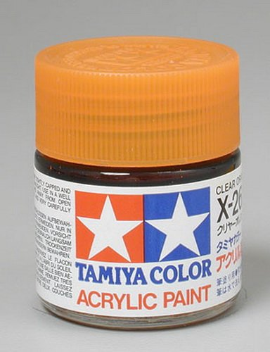 Tamiya Acrylic X26 Clear Orange 23ml Bottle - 1