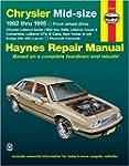 Haynes Chrysler Mid-Size Cars Repair...