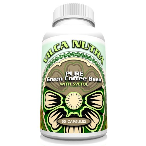 Pure Green Coffee Bean Extract Pills With Svetol - 500 Mg Gcb - 200 Mg Svetol - 50% Chlorogenic Acids For A Max Safe Weight Loss Supplement - These Gcbe Pills Will Help You Burn Fat Without Giving You That Coffee Edge - Jump Start Your Weight Loss Plans T